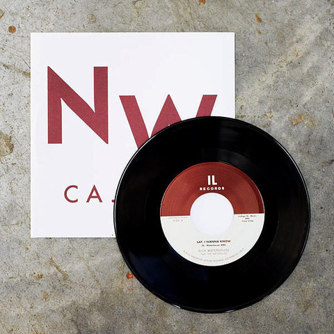 "Nick Waterhouse - Say I Wanna Know / If You Want Trouble, 7"" Vinyl"