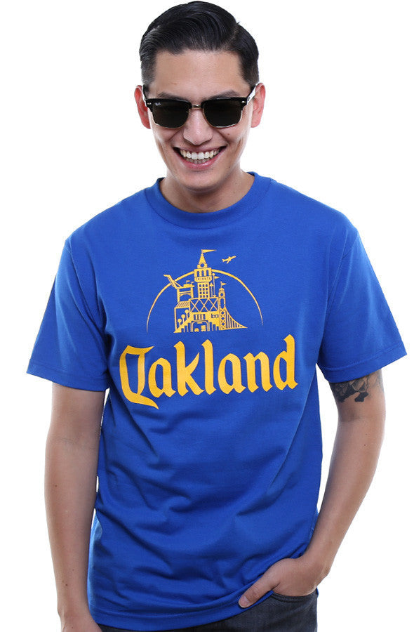 Adapt - Oakland Men's Tee,  Royal - The Giant Peach - 1