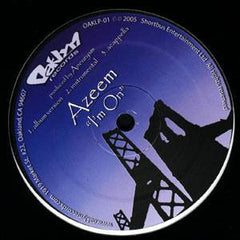 "Azeem - I'm On, 12"" Vinyl - The Giant Peach"
