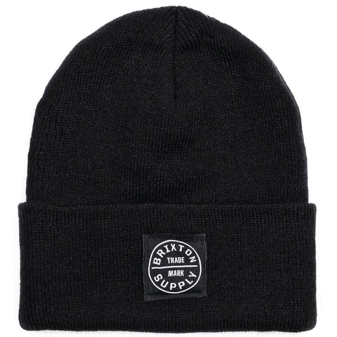 Brixton - Oath Watch Cap Men's Beanie, Black