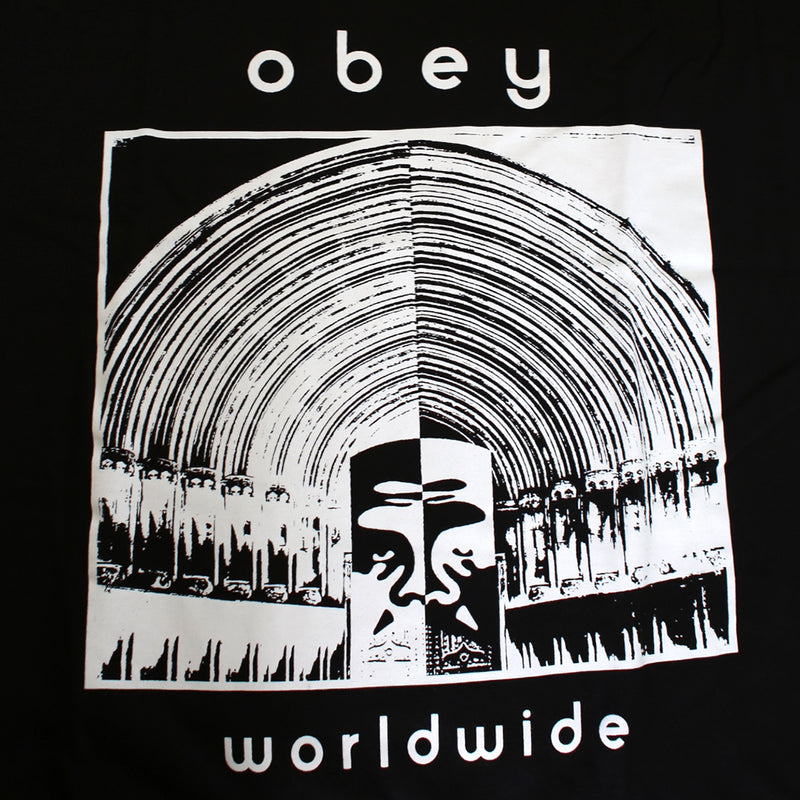 OBEY - Cathedral Men's Tee, Black