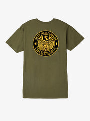 OBEY - Chaos and Dissent Men's Shirt, Military Olive