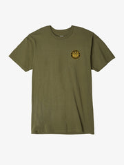 OBEY - Chaos and Dissent Men's Shirt, Military Olive - The Giant Peach