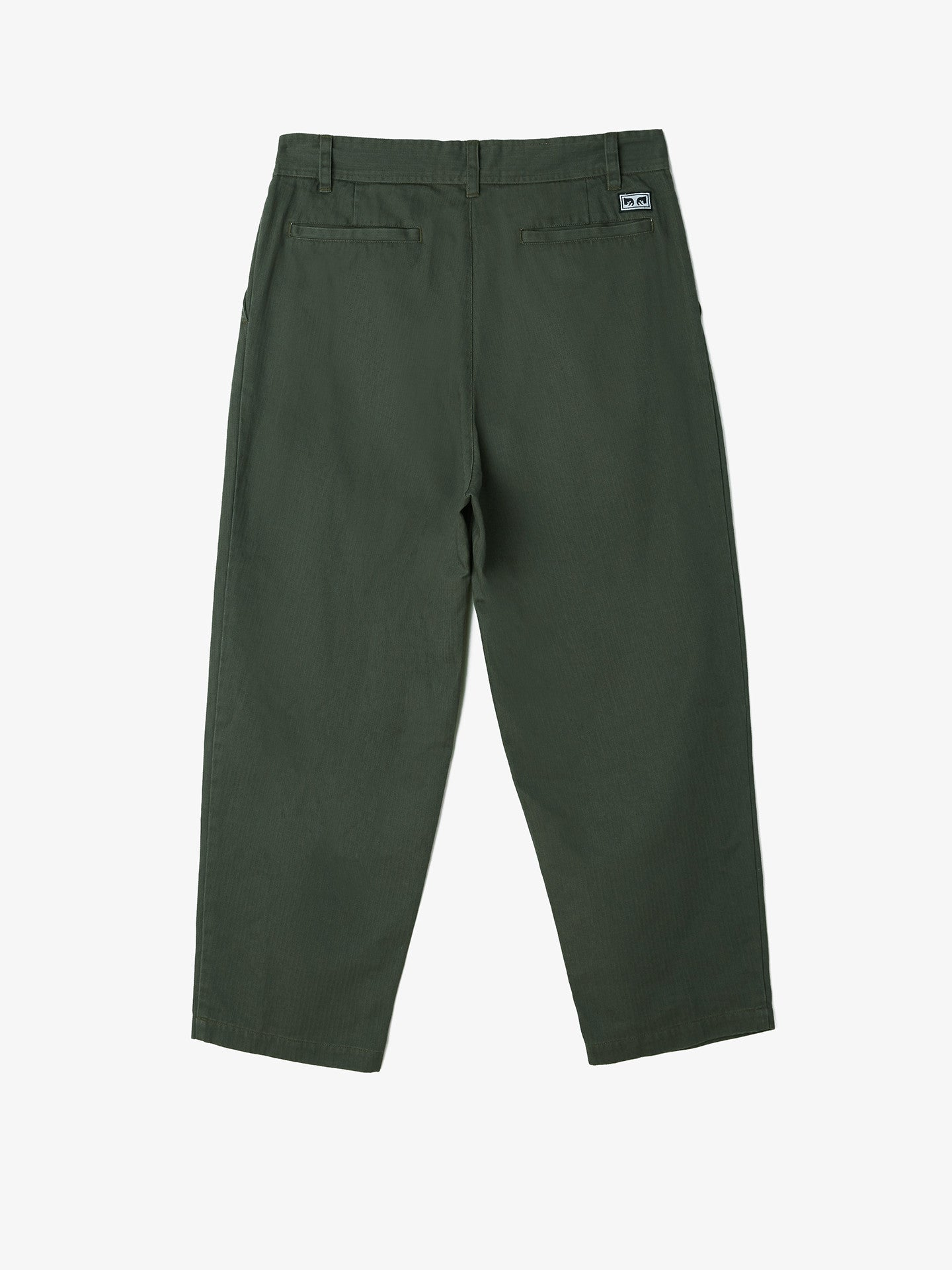 OBEY - Fubar Big Fits Men's Pants, Army - The Giant Peach