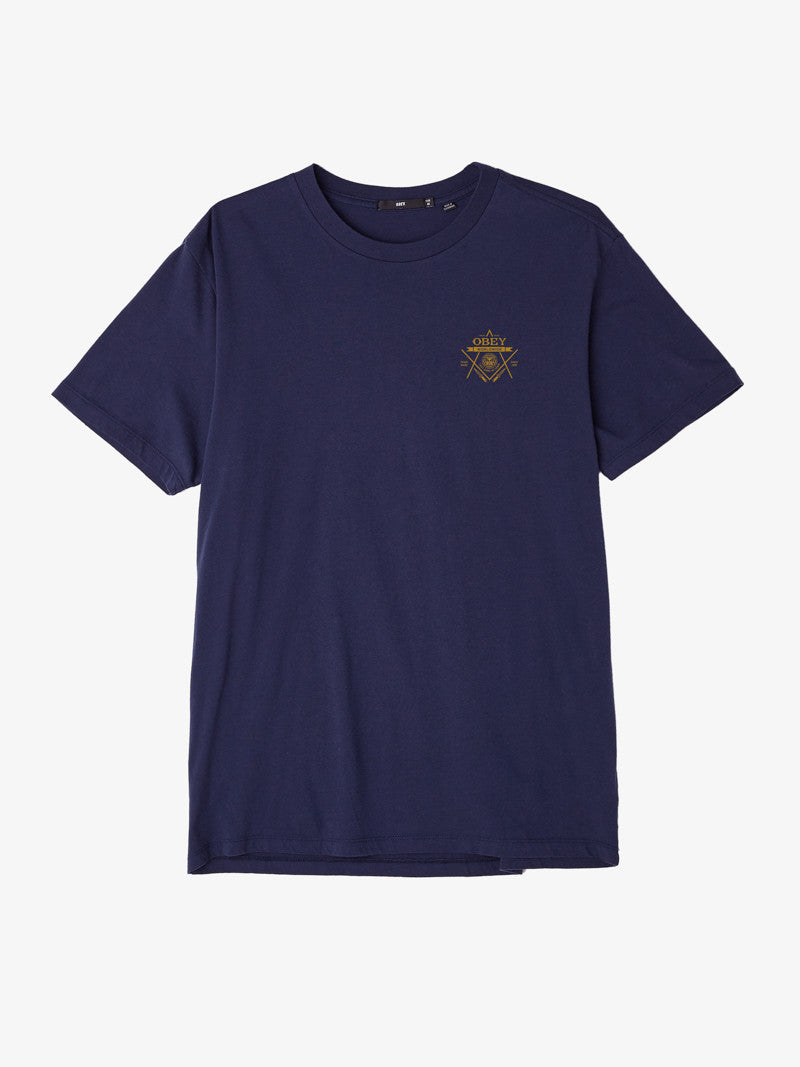 OBEY - Last Gang Men's Tee, Navy