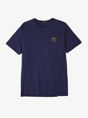 OBEY - Last Gang Men's Tee, Navy - The Giant Peach