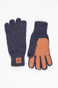 OBEY - Blake Gloves, Navy - The Giant Peach