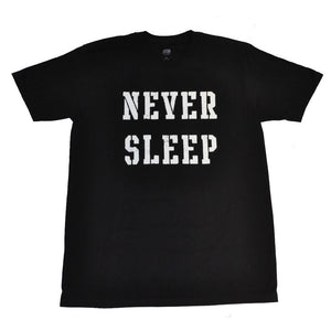 OBEY - Never Sleep Premium Men's Shirt, Black - The Giant Peach