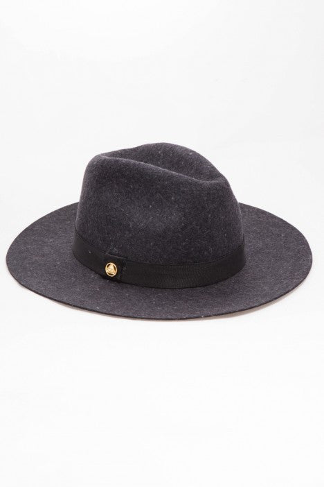 OBEY - Sienna Fedora, Heather Grey - The Giant Peach