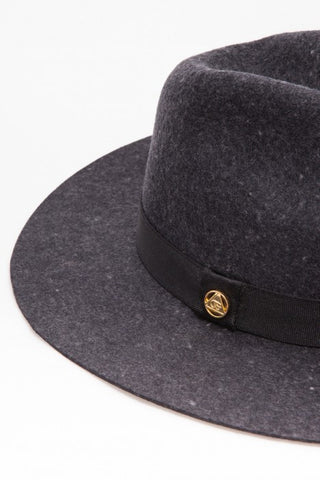 OBEY - Sienna Fedora, Heather Grey