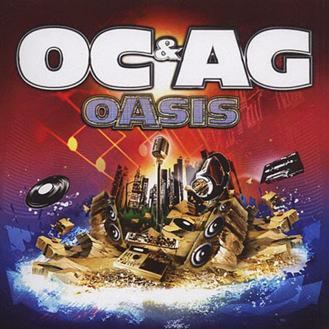 O.C. & A.G. - Oasis, 2xLP Vinyl - The Giant Peach