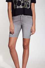 OBEY - Lean & Mean Natural Women's Shorts, Grey - The Giant Peach - 1