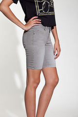 OBEY - Lean & Mean Natural Women's Shorts, Grey - The Giant Peach - 2