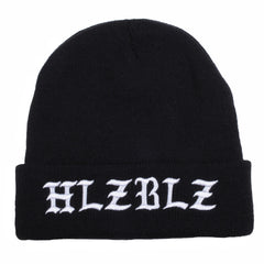HELLZ - Orale  Women's Beanie, Black - The Giant Peach