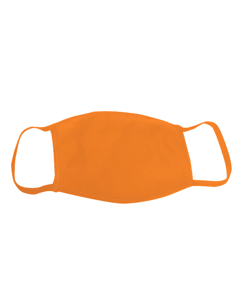 Cotton Face Mask, Orange