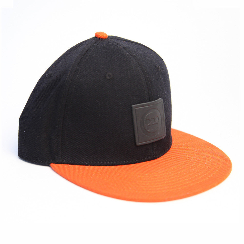 Hieroglyphics - Snapback Hat, Black/Orange - The Giant Peach