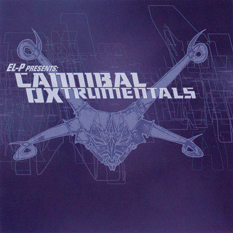 El-P Presents - Cannibal Oxtrumentals 2xLP Vinyl