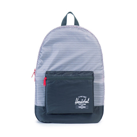 Herschel Supply Co. - Packable Daypack, Prism Print - The Giant Peach - 1