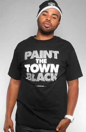 Adapt - Paint the Town Black Men's Shirt, Black