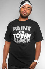 Adapt - Paint the Town Black Men's Shirt, Black - The Giant Peach - 1