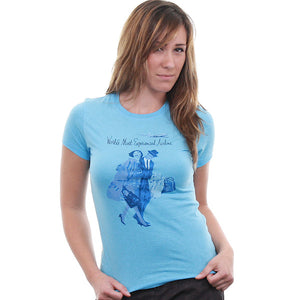 Pan Am - Pan Am Experience Women's Shirt, Light Blue - The Giant Peach