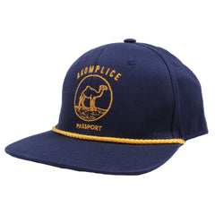 Akomplice - Passport Snapback Hat, Navy - The Giant Peach - 1