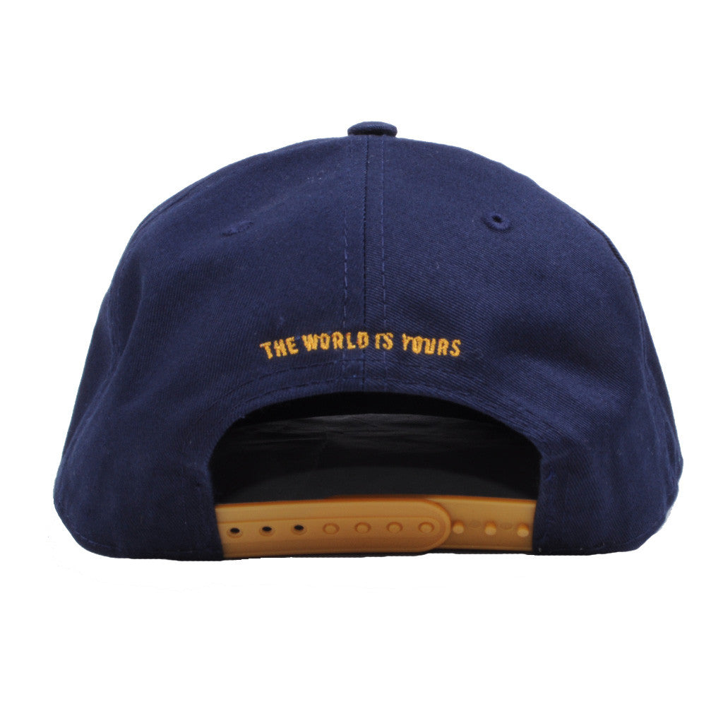 Akomplice - Passport Snapback Hat, Navy - The Giant Peach - 3