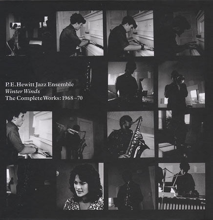 P.E. Hewitt Jazz Ensemble- Winter Winds Complete Works 1968-1970, 3xCD