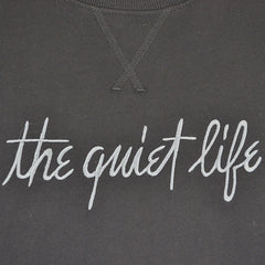 The Quiet Life - Pen and Ink Professor Men's Crewneck, Black - The Giant Peach