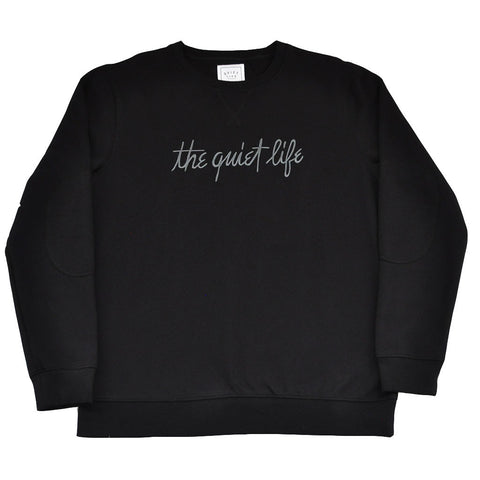 The Quiet Life - Pen and Ink Professor Men's Crewneck, Black