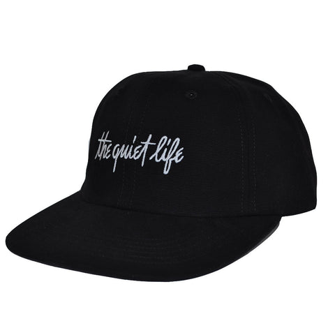 Quiet Life - Pen and Ink Men's Polo Hat, Black