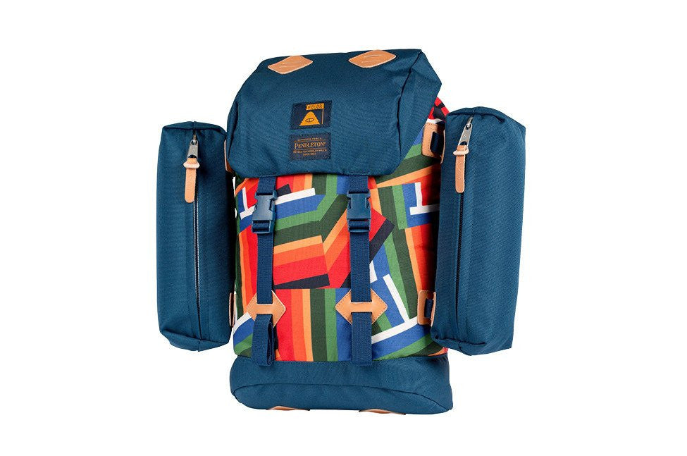 Poler x Pendleton - Classic Rucksack, Crater Lake - The Giant Peach