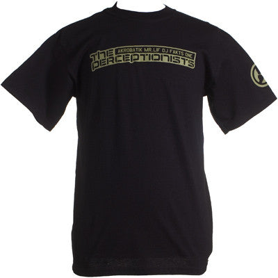 The Perceptionists - Perceptionists Shirt, Black
