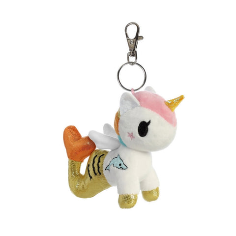 tokidoki - Perla Mermicorno Plush Clip-On - The Giant Peach