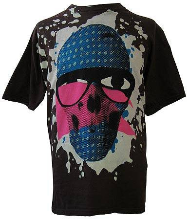 2K Michael Leon - Pink Flag Skull Shirt, Steel - The Giant Peach