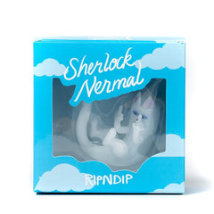 RIPNDIP - Sherlock Nermal Glass Ornament - The Giant Peach