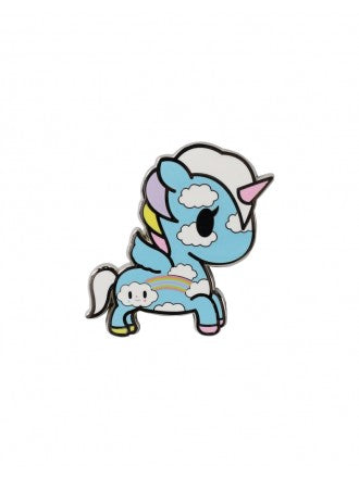 tokidoki - Pastel Pop Pixie Unicorno Enamel Pin - The Giant Peach