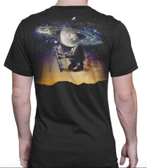 Imaginary Foundation - Planetary Dawn Men's Shirt, Black - The Giant Peach - 1