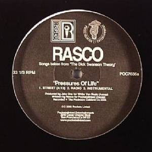 "Rasco - Pressures Of Life, 12"" Vinyl - The Giant Peach"