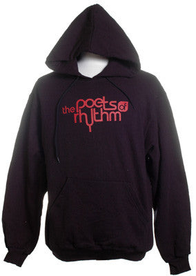 Poets of Rhythm - Logo Men's Hoodie, Black - The Giant Peach
