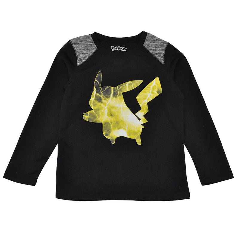 Pokemon - Glow L/S Toddler Tee, Black - The Giant Peach