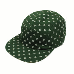 delHIERO - Oak Mini Del Hiero 5 Panel Hat, Green - The Giant Peach - 1