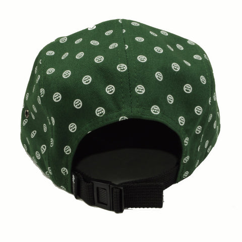 delHIERO - Oak Mini Del Hiero 5 Panel Hat, Green