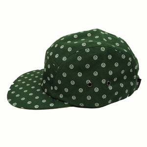 delHIERO - Oak Mini Del Hiero 5 Panel Hat, Green - The Giant Peach