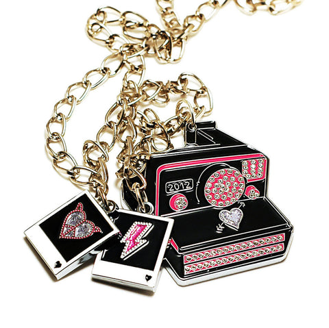 Hello Drama - Paparazzi Necklace, Multi-Color