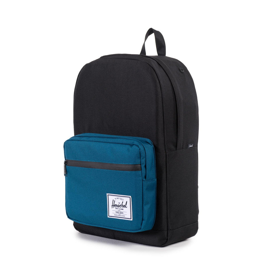 Herschel Supply Co. - Pop Quiz Backpack, Black/Ink Blue - The Giant Peach - 3