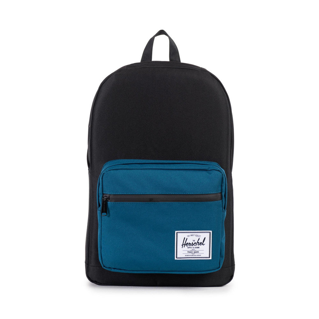 Herschel Supply Co. - Pop Quiz Backpack, Black/Ink Blue - The Giant Peach - 1