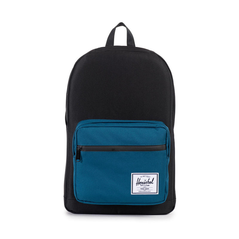 Herschel Supply Co. - Pop Quiz Backpack, Black/Ink Blue - The Giant Peach