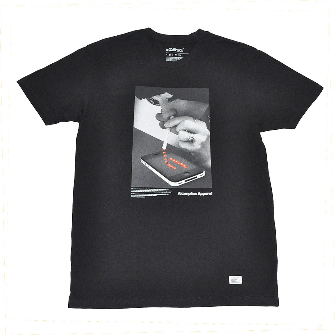 Akomplice - Popularity Men's Tee, Black - The Giant Peach