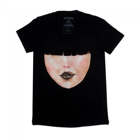 David Choe - Bangs Premium Women's Shirt, Black